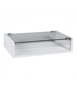Jewellery Display Case - White
