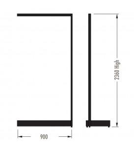 MAXe Gondola S3 Add-On Bay - Single Sided - 2360Hx900W - Black