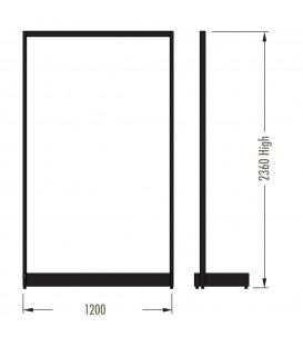 MAXe Gondola S3 Starter Bay - Single Sided - 2360Hx1200W - White