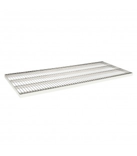 Wire Metal Shelf to suit 1200W Bay - Chrome - 500D x 30mm Thick