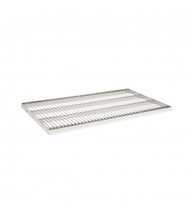 Wire Metal Shelf to suit 900W Bay - Chrome - 500D x 30mm Thick