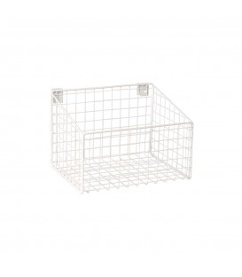 Basket - suit Backrail - White - 293L x 200H x 212mmD