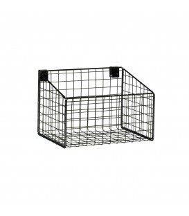 Basket - suit Backrail - Black - 293L x 200H x 212mmD