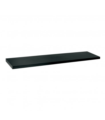 Laminated Timber Shelf - Black - suit 1200W Bay - 300mmD x 30mm Thick