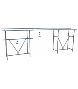 Connecting Rail for Heavy Duty Double Rack