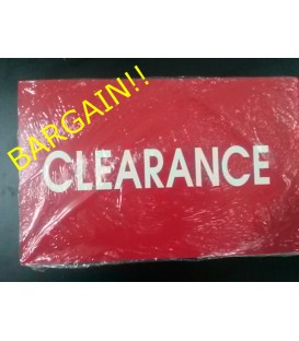 """CLEARANCE"" Display Card Pack"