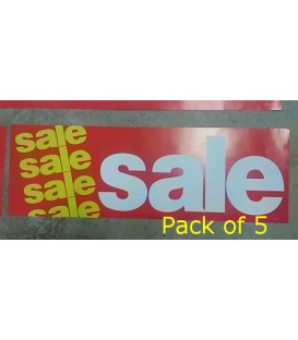 """Sale"" Small Paper Banner"