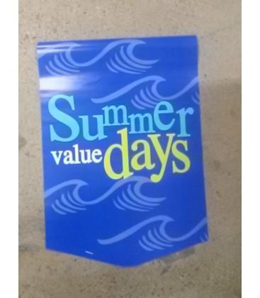 """Summer"" Paper Pennant"