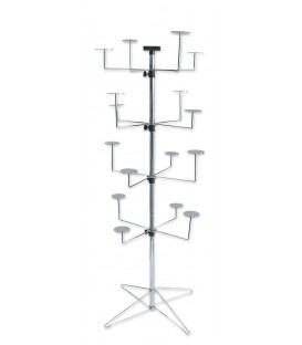 STAND SPINNER FLOOR HATx16