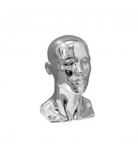 Fibreglass Head - Male Chrome
