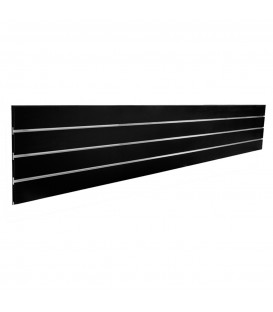 SLATWALL PANEL 2400x400 TOP BLACK