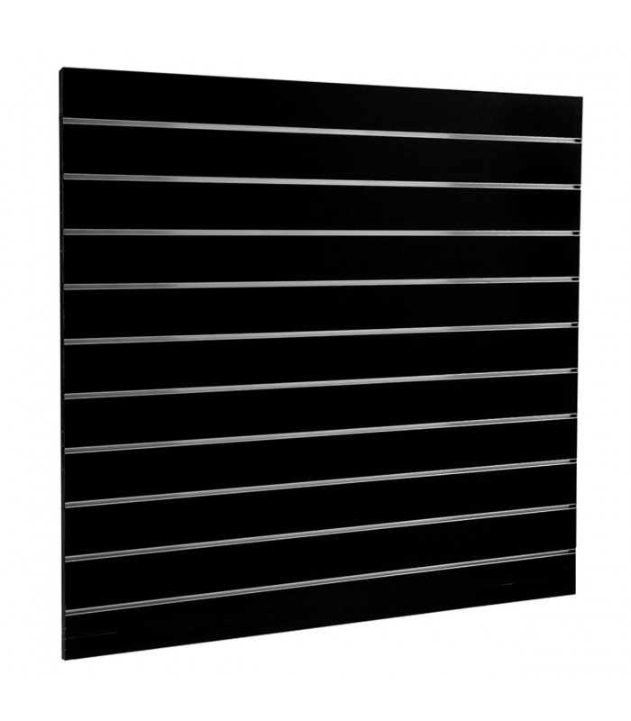 Slatwall Panel 1200x1200 Black Shop Basics