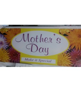 """Mothers Day"" Large Paper Banner"