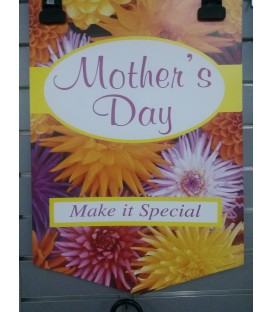 """Mothers Day"" Small Paper Banner"