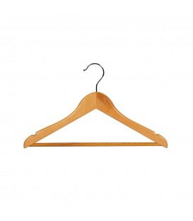 Hanger Child Timber with Rail and Notches 350mmW Beech