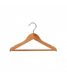 Hanger Baby Timber with Rail and Notches 310mm wide Beech