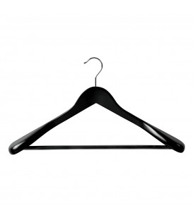 Hanger Suit Large Timber 450mm wide Black