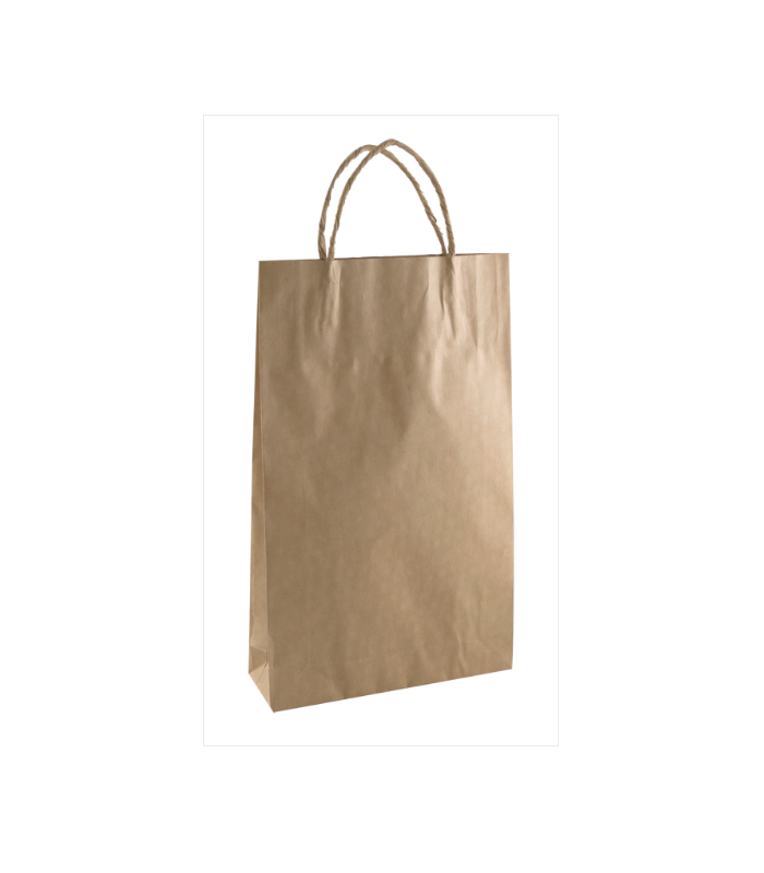 Brown Baby Paper Carry Bag Portrait