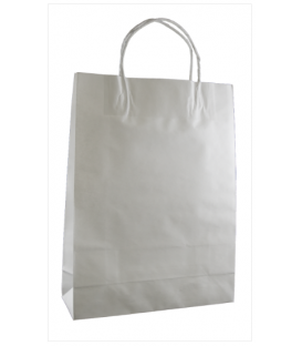 White small Paper Carry Bag Portrait