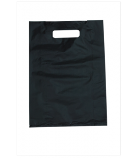 Small Black Boutique Bags - HDPE