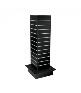 Slatwall Spinner Unit  Small Black