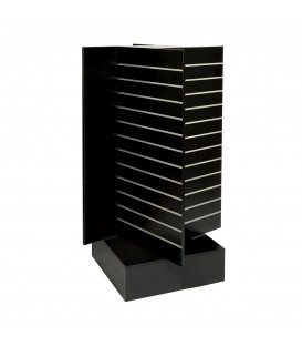 Slatwall Spinner Unit Large Black