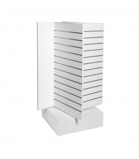 Slatwall Spinner Unit Large White