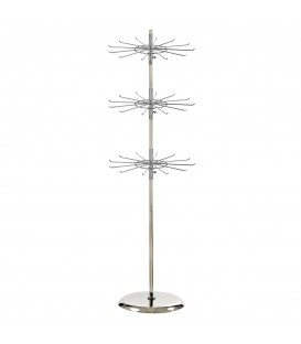 Spinner Stand with 12 prong Spinners Chrome