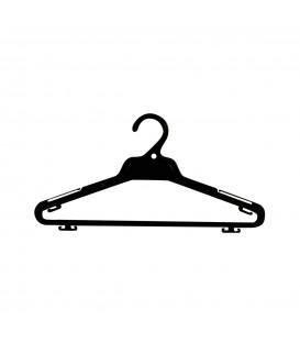 Hanger Shirt & Pant Standard 395mm Wide Black