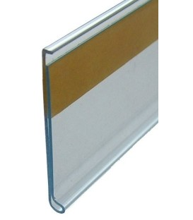 SCANSTRIP - 35mm FLAT ADHESIVE CLEAR 1200mm Liong