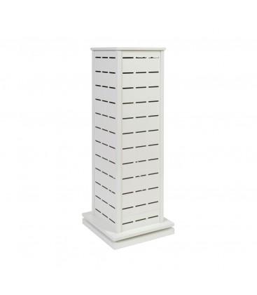 Pop Slot Spinner 1300mm High x 450x450mm Base White