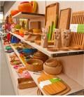 Shelving Timber & Glasss
